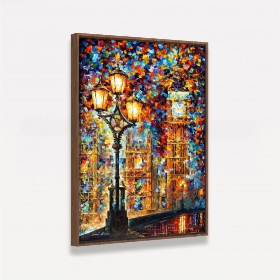 Quadro Moderno Artístico Abstrato - Big Ben