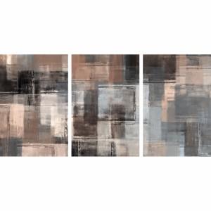 Quadro Abstrato Moderno Cores Requinte