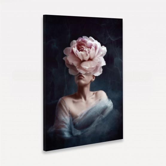 Quadro Mulher em Arte Moderna - Woman With Rose