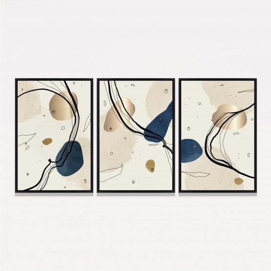 Quadros decorativos Abstratos Figures Art
