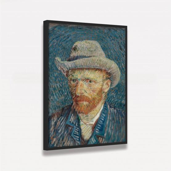 Quadro Van Gogh - Autorretrato Gray Felt Hat