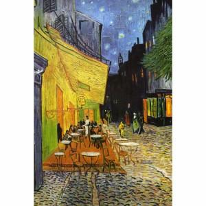 Quadro Terraço do Café - Van Gogh - Releitura