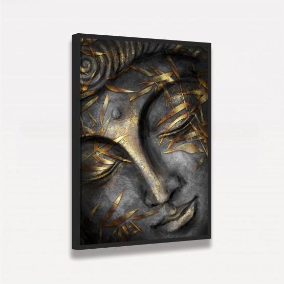 Quadro Buda Arte Moderna Face Budismo