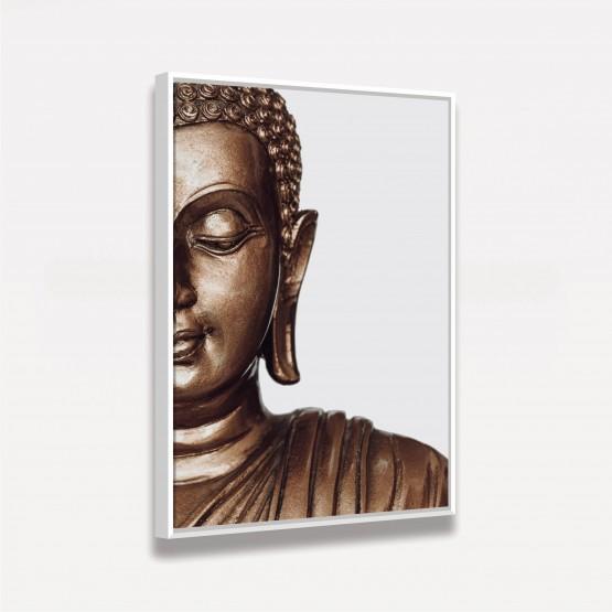 Quadro Buda Oriental Estátua Moderna