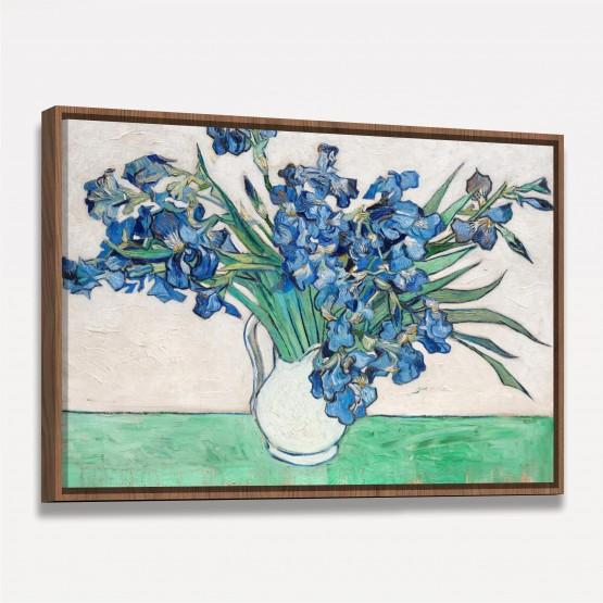 Quadro Iris - Van Gogh - Releitura