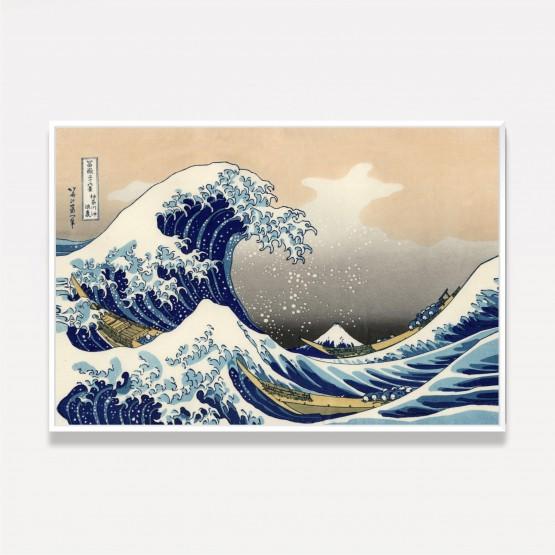 Quadro A Grande Onda De Kanagawa - Oriental - Hokusai