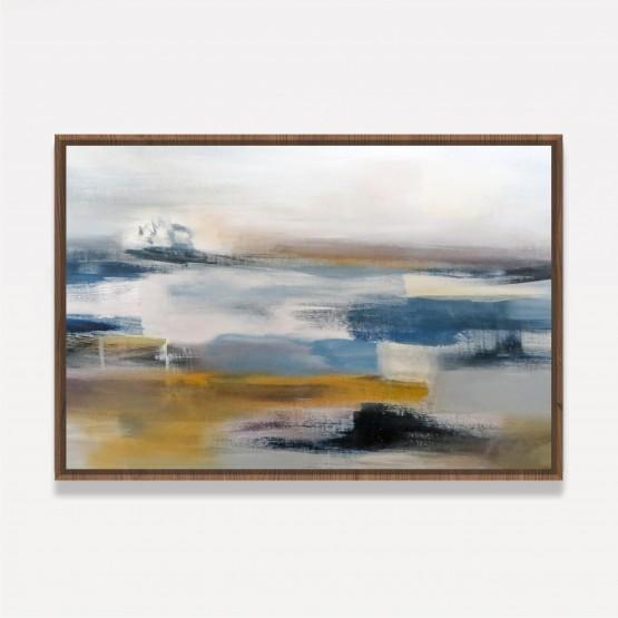 Quadro Abstrato Moderno Design Pintura Artística Contemporânea