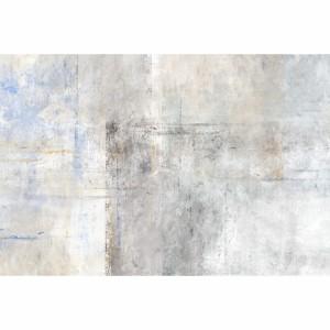 Quadro Abstrato Neutro Rústico