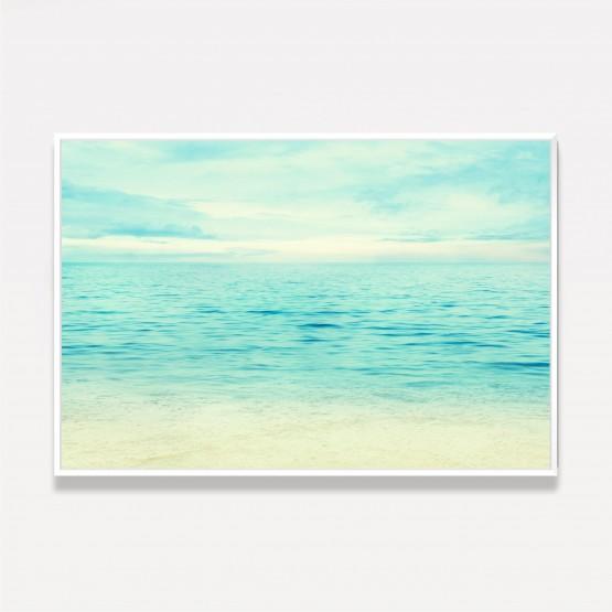 Quadro Paisagem Mar Praia Oceano Azul