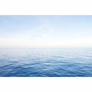 Quadro Mar e Céu Azul Paisagem decorativa