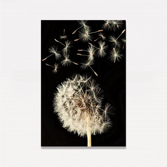 Quadro Flor Dente de Leão Moderna em Arte