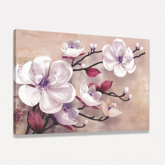Quadro Artístico Orquídeas Brancas