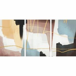 Kit Quadros Abstratos Aquarela Modernos decorativo - 3 Peças