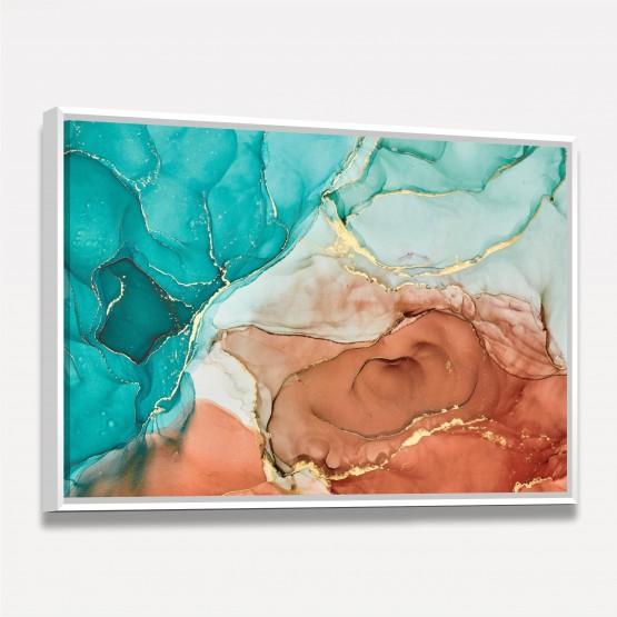 Quadro Abstrato Luxury em Arte Alcohol Elegance