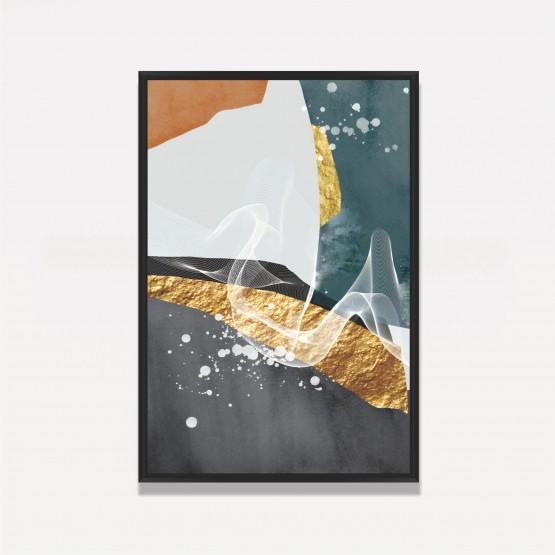 Quadro Abstrato Luxury Watercolor decorativo