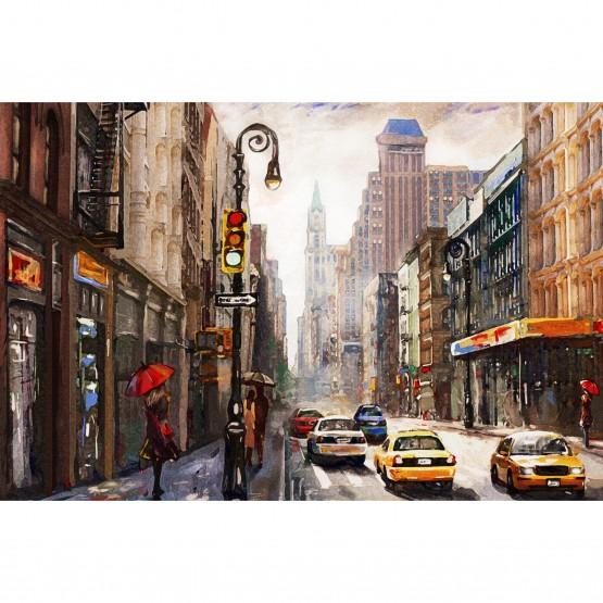 Quadro Nova York Cidade Moderna Artístico decorativo