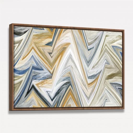 Quadro Abstrato Tela Contemporânea decorativa