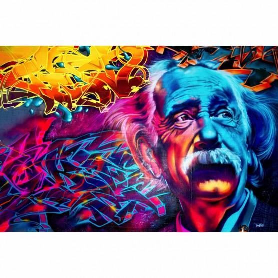 Quadro Pop Art Albert Einstein