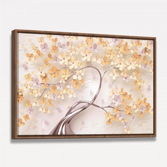 Quadro Flores Cerejeiras Artístico decorativo