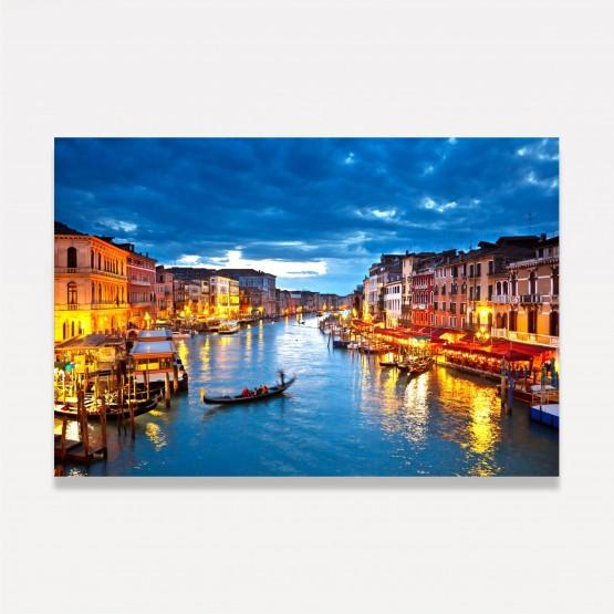 Quadro Canal de Veneza decorativo