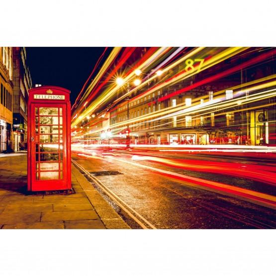 Quadro Londres Cabine Telefônica Vermelha - Lights