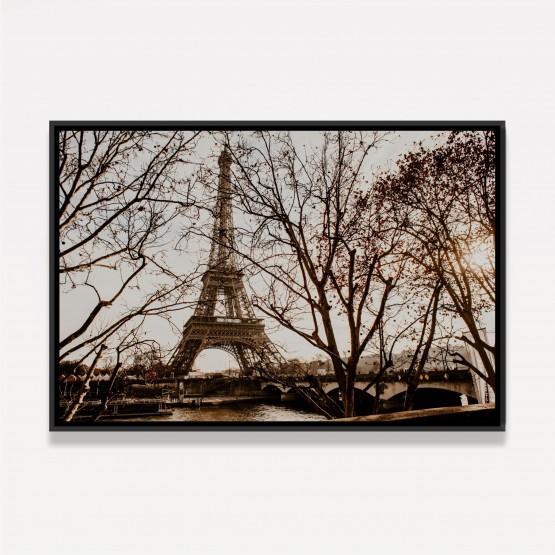 Quadro Torre Eiffel Paris em Arte Vintage