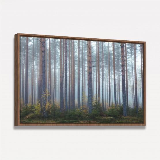 Quadro Árvores Altas Paisagem da Natureza - 1 Peça