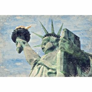 Quadro Artístico da Estatua da Liberdade