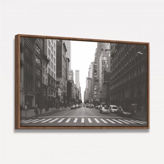 Quadro decorativo Nova York - Preto e Branco