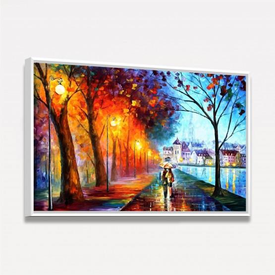 Quadro Abstrato em Arte decorativo - Couple in Love