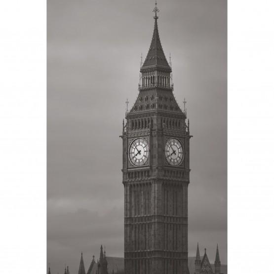 Quadro Big Ben London - Preto e Branco