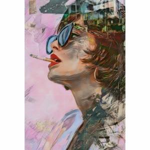 Quadro Mulher Moderna Abstrato Artístico