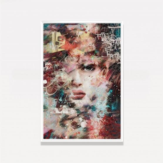 Quadro Mulher em Arte Abstrata Moderna