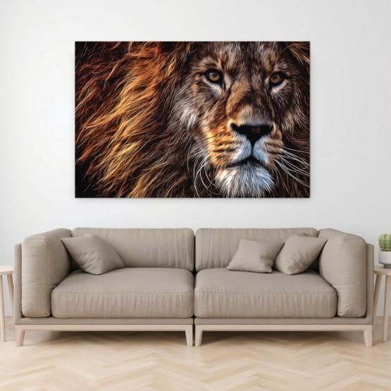 Quadro Decorativo Leão traços Artisco