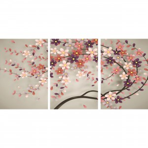 Quadro Árvore Flores de Cerejeiras decorativo - Cherry Blossom Tree