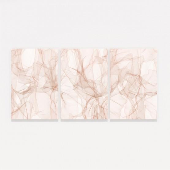 Quadros Abstrato Moderno Bege