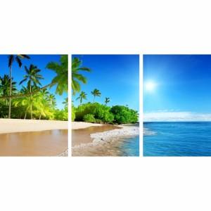 Quadro Decorativo Praia Tropical